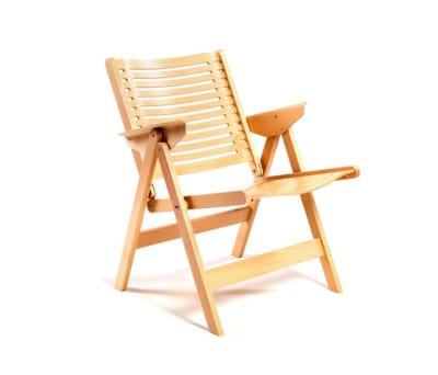 Rex Lounge Chair beech natural by Rex Kralj