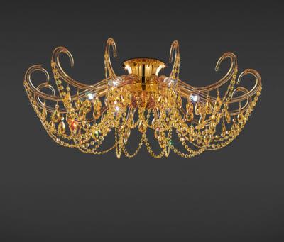 Sabik Ceiling Lamp by ITALAMP