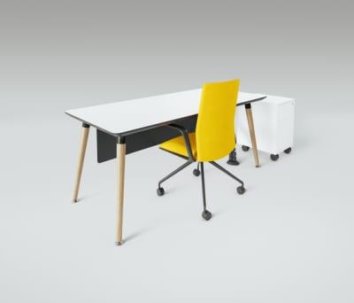 Scando Single office desk by Ergolain