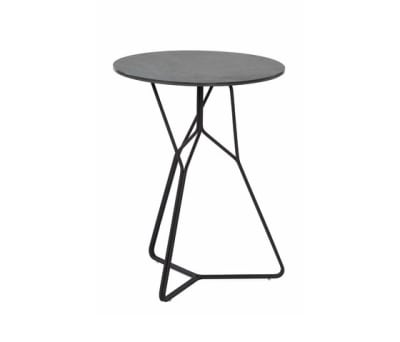 Serac Side Table Ceramic by Oasiq