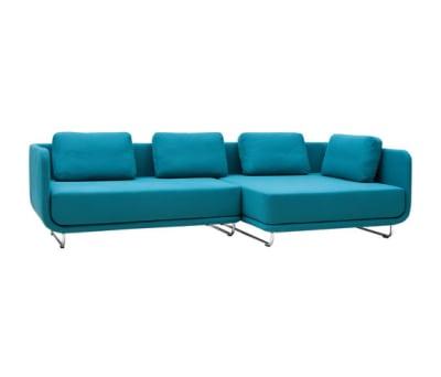 Setup sofa   chaise long by Softline A/S