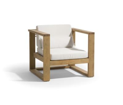 Siena lounge 1 seat by Manutti