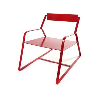 Slitta Chair Antonino red by Serax