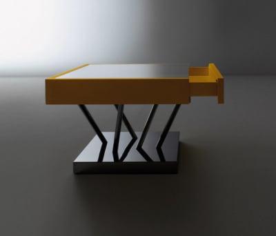 Sottsass | Low table SA 04 by Laurameroni
