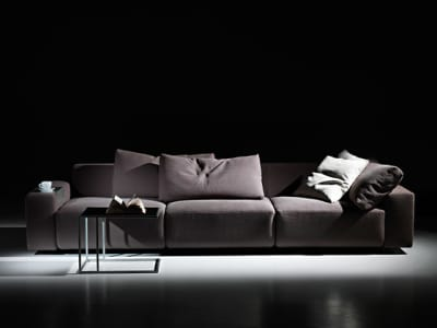 Square | 3-seater sofa by Mussi Italy