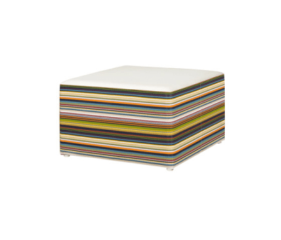 Stripe ottoman horizontal by Mamagreen