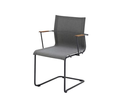 Sway Stacking Chair with Arms by Gloster Furniture