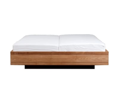 Teak Burger bed - without slats 189 x 211 x 39 cm