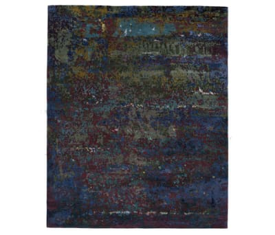 Texture - Canvas scarab blue by REUBER HENNING