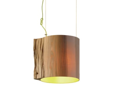 The Wise One Green pendant lamp by mammalampa