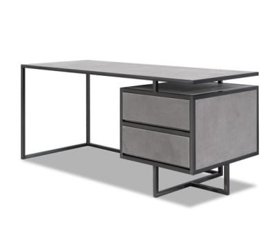 TRINITY Desk with drawers by Baxter