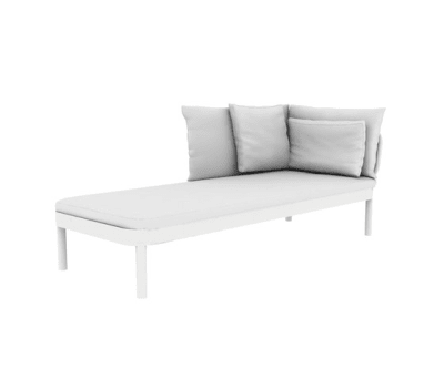 Tropez Chaise Longue by GANDIABLASCO