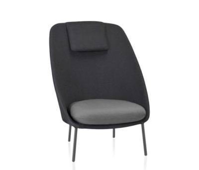 Twins High armchair 3D Mesh by Expormim