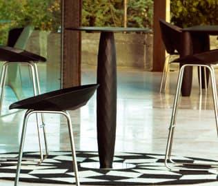Vases Bar Table  Ø70 x 100 Bronze