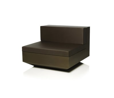 Vela sofa central unit Bronze