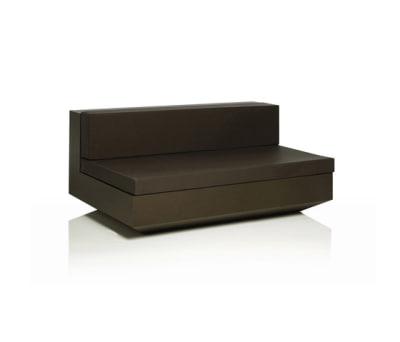 Vela sofa central unit XL Bronze