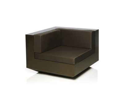 Vela sofa right unit Bronze