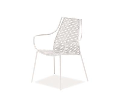 Vera armchair - set of 4 Glossy White