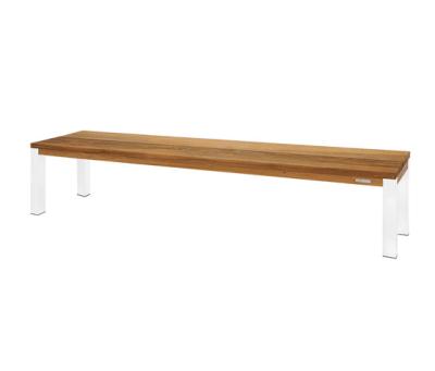 Vigo bench 220 cm (powdercoated steel) by Mamagreen