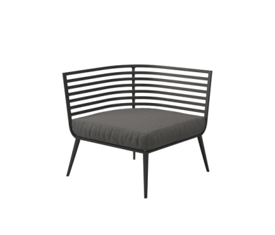 Vista Corner/End Unit by Gloster Furniture