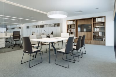 Vu Conference table by Ergolain