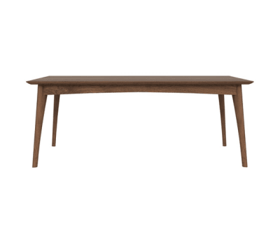 Walnut Osso rectangular dining table 200 x 100 x 75 cm