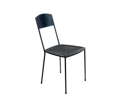 Woven Seat Chair by Serax