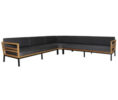 Zudu corner sofa symetric by Mamagreen