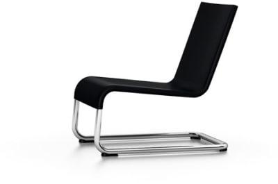 .06 Lounge Chair 01 Basic Dark, 04 glides for carpet