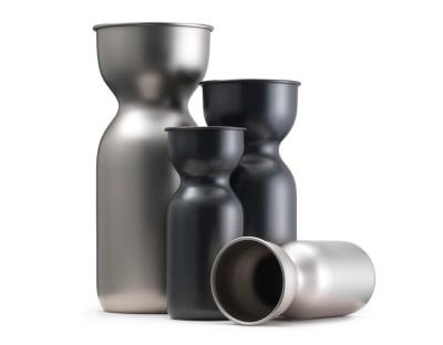 Acquarello Vase Burnished Brass, Large