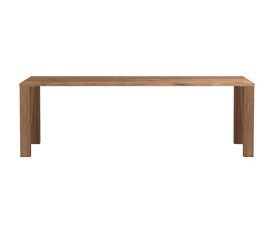 Apron Dining Table Teak, 240 x 100 x 76 cm