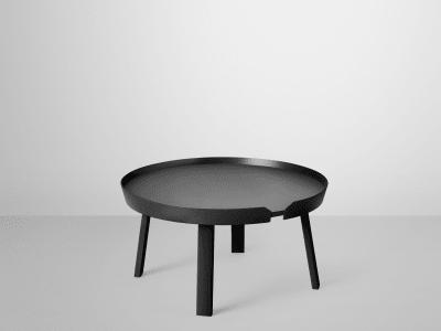 Around Large Coffee Table Black