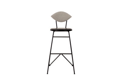 Avenue Bar Stool Outback 121, Black Leather