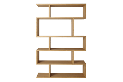 Balance Tall Shelving Oak