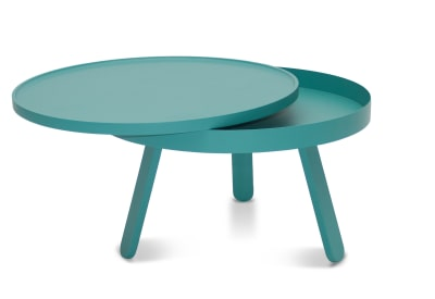 Batea M - Coffee table with storage Green