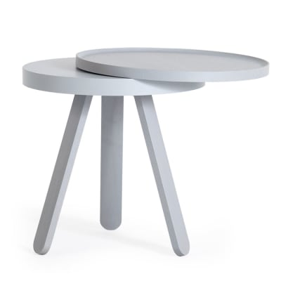 Batea S - Tray table Grey