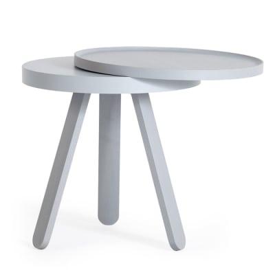 Batea S - Tray table Grey
