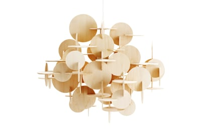 Bau Pendant Lamp Nature, Large