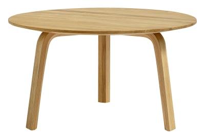 Bella Coffee Table L Oak, Short