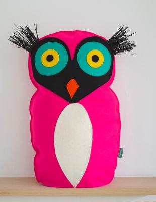 Bird Cushion Pink bird