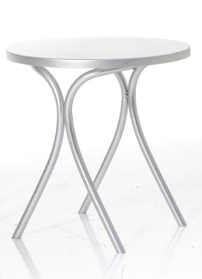 Bistrot Dining Table Anodized aluminium