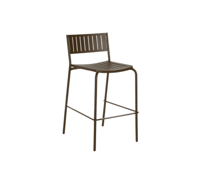 Bridge Barstool - Set of 2 Indian Brown