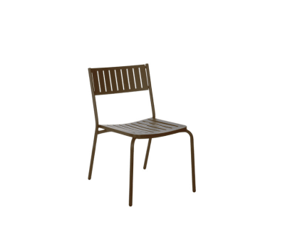 Bridge Chair - Set of 4 Indian Brown