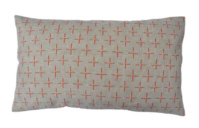 Brockley Cross Long Cushion Orange