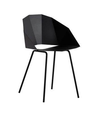 Buk dining chair Black