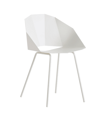 Buk dining chair White