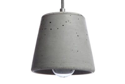 Calix 14 Concrete Pendant Light 100 cm Cable Lenght