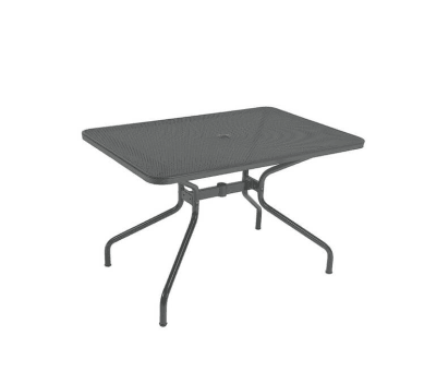 Cambi Rectangular Table Small, Antique Iron