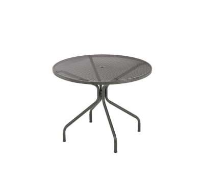 Cambi Round Table Medium,  Matt White