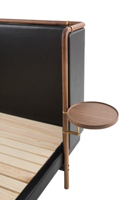 Chambre Bed Side Table Walnut